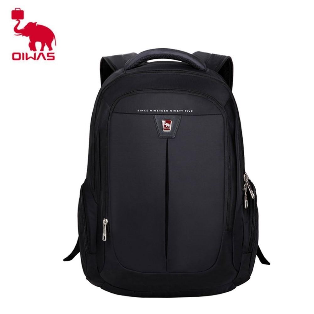 2018 NEW Oiwas Comfortable Men Women Backpack Bag Breathable Sponge Net Design Students School Bag Notebook Laptop Backpack Bag oiwas fashionable design men women