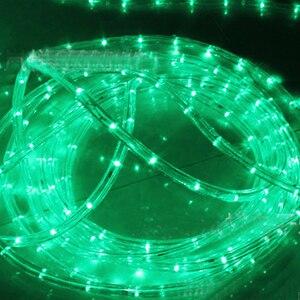 Image 5 - waterproof Rainbow tube rope led strip Christmas light outdoors Holiday Decoration Lights 2M 20M AC220V IP65  led rgbstrip