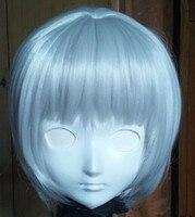 (C2-036)豪華な完璧なカスタマイズされた女性シリコーンゴムハーフ顔