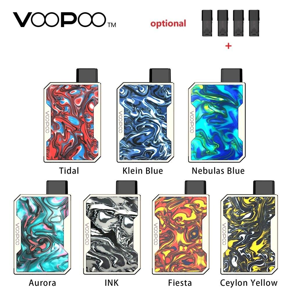 Hot Sell !!! VOOPOO DRAG Nano Pod Vape Kit W/ 750mAh Battery & 1ml Pod & GENE Chip & Resin Panel VOOPOO Kit Vs Drag 2/ VINCI Mod