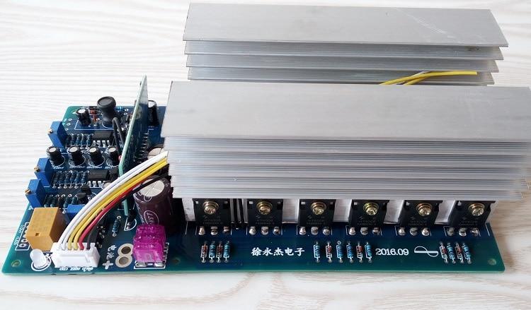24V 36V 48V 60V 2000W 3000w4000w5000w pure sine wave power frequency inverter main board