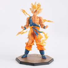 Anime Dragon Ball Super Saiyan Son Goku PVC F.ZERO Action Figure Toys PVC 18cm Figuras Dragon Ball SYP-0001