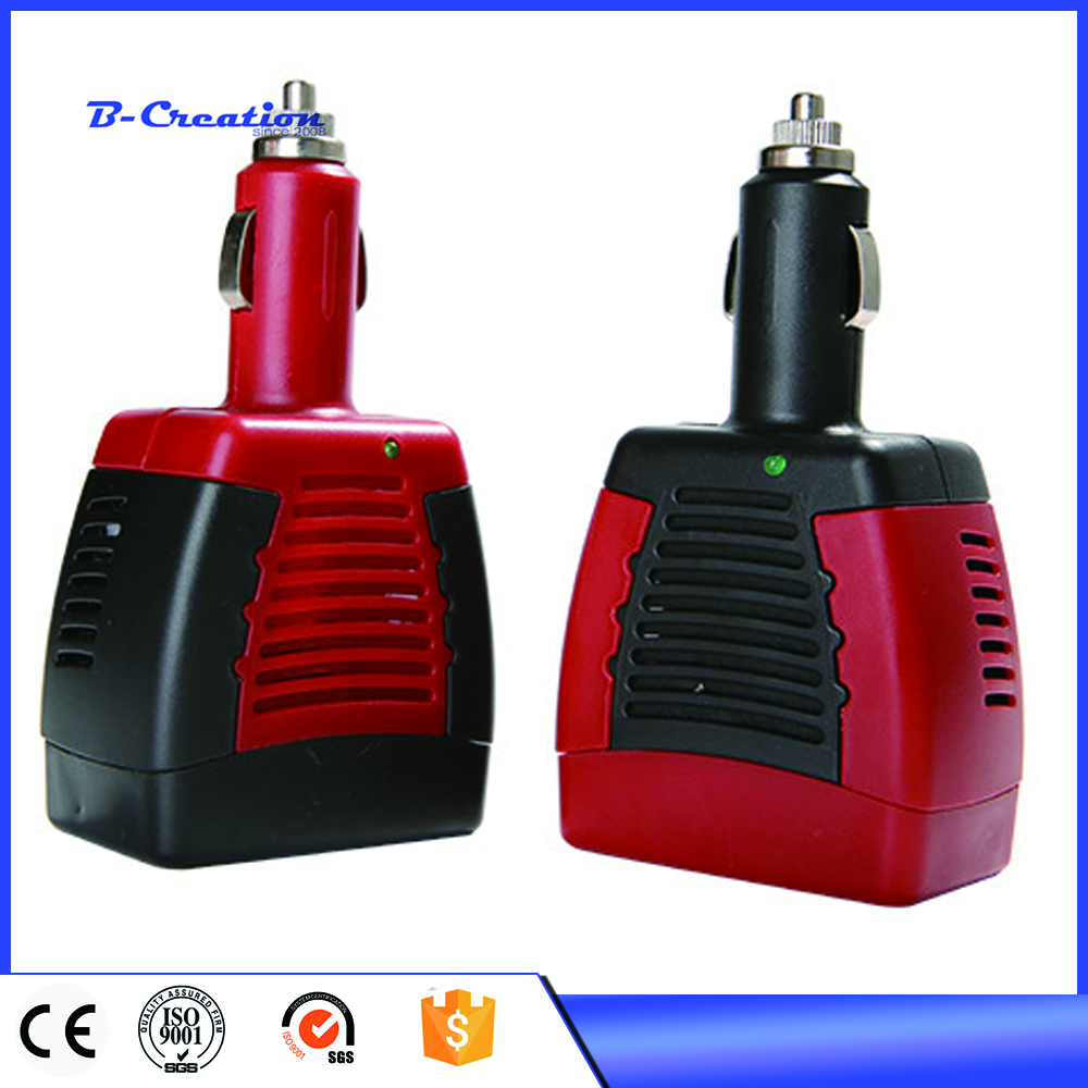 75/150W Car Power Inverter 12V DC to 220V/110V AC converter Adapter with Cigarette Lighter and USB 2.1A/0.5A For Laptop bridna 150w cigarette lighter car charger converter dc 12v to ac 110v 60hz 220v 50hz car power inverter adapter with usb port page 5