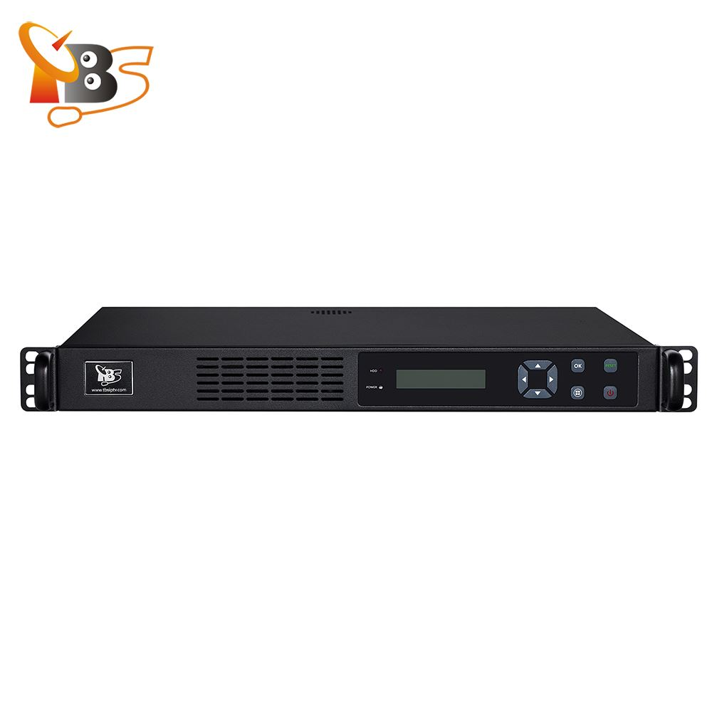 TBS2951 MOI Pro AMD Professional IPTV Streaming Server with 2x TBS6904 DVB-S2 Quad Tuner Card for live Broadcast