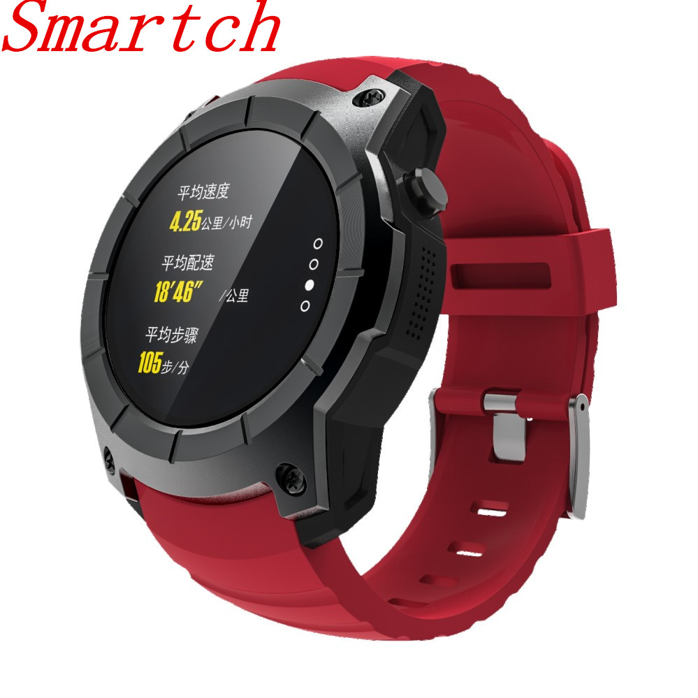 Smartch S958 Smart Watch Life Waterproof with GPS Tracker Air Pressure Monitor Outdoor Sports Heart Rate Monitor Watch For Andro garmin fenix 5s sapphire 42mm sports gps heart rate watch with compass