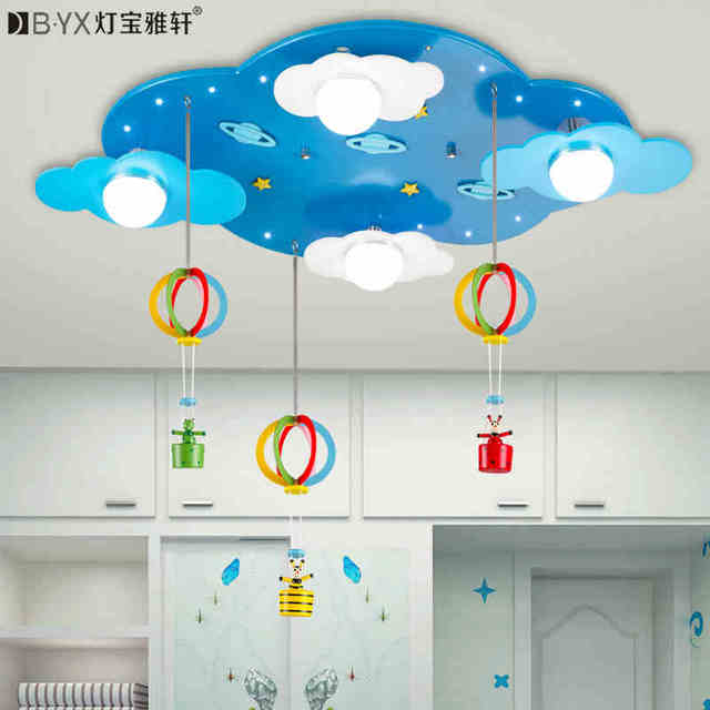 childrens bedroom lighting. perfect childrens 2016 new childrenu0027s bedroom cartoon led ceiling lights male girl room stars  clouds warm creative lighting intended childrens bedroom lighting e