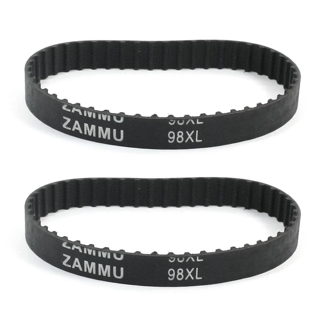 "Industry 100-XL Timing Belt Cogged PU Rubber Geared Belt 10/"""