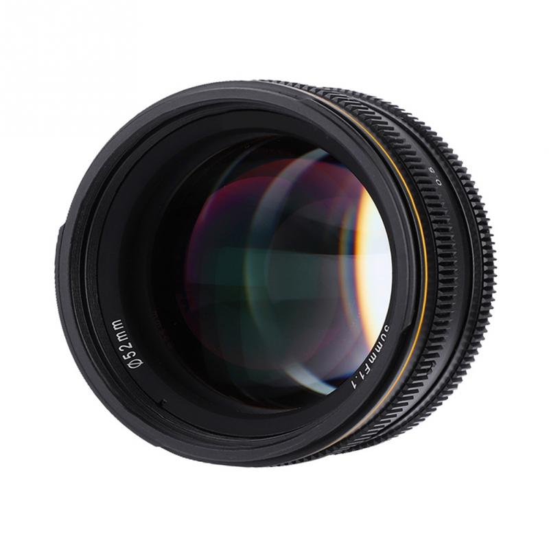 High Quality Kamlan 50mm f1 1 APS C Large Aperture Manual Fo cus Lens for Mirrorless