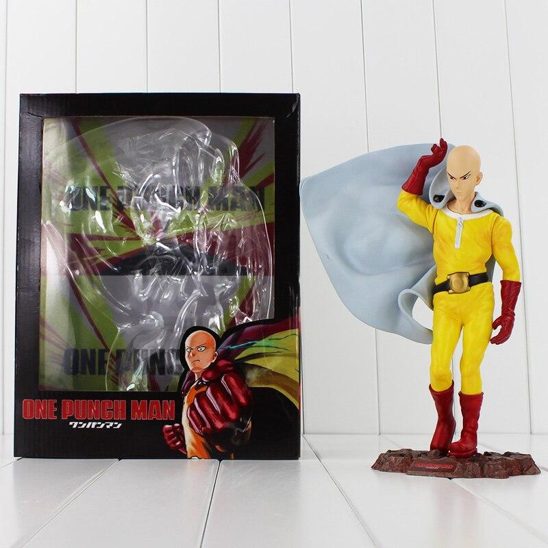 25cm ONE PUNCH MAN PVC Action Figures Saitama Sensei Toys ONE PUNCH-MAN Toy