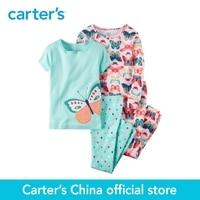 Carter S 1pcs Baby Children Kids 4 Piece Snug Fit Cotton PJS 351G158 Sold By Carter
