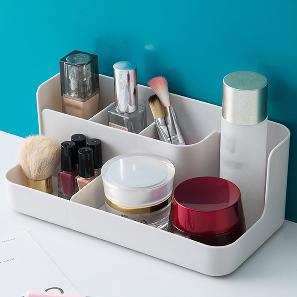 Feiqiong Box Desktop-Organizer Portable Makeup-Brushes-Holder Storage-Container Cosmetic