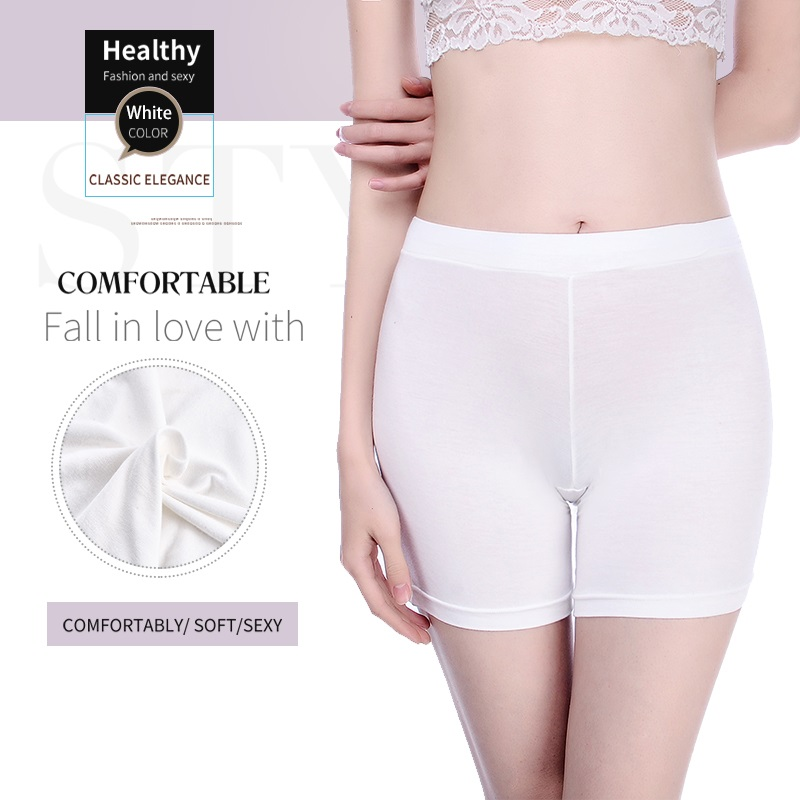 Innsly Women's  Safety Shorts Seamless Cotton High-end  Women's Safety Shorts Soft And  Comfortable Large  Size Safety Underwear