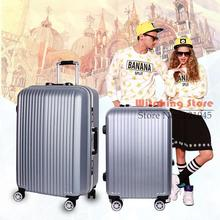 26 INCH 2226# Package post high-grade aluminum candy color box 22 24 suitcase #EC FREE SHIPPING