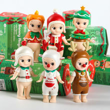 6 pcs/set Kewpie Sonny Angel Doll Set Toy,Sonny Angel Valentine's Day Chocolate , Halloween, Christmas Series PVC Figure Toys