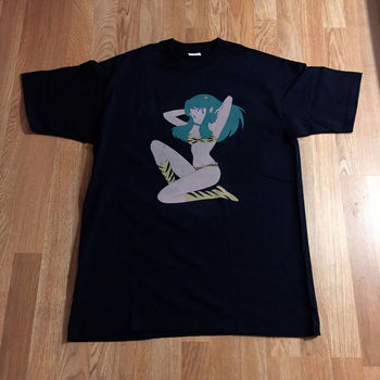 LUM URUSEI YATSURA SEXY Urusei Yatsura Glitch T-shirt Lamu  Japan Anime Short Sleeve T Shirt Free Shipping