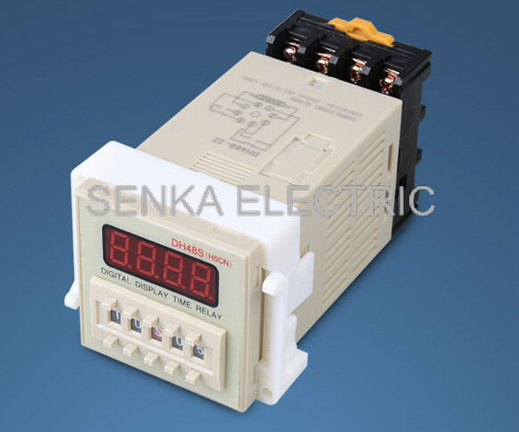 DH48S-S2Z-0.1S-99H Power on Time Delay Relay 8-Pin DPDT AC/DC36V w Socket