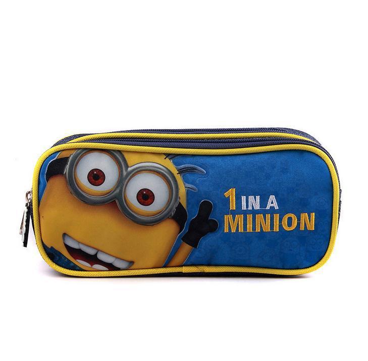 Minion pencil case Minions fabric pencil case Minions pencil pouch Minions pencil case Minions fabric