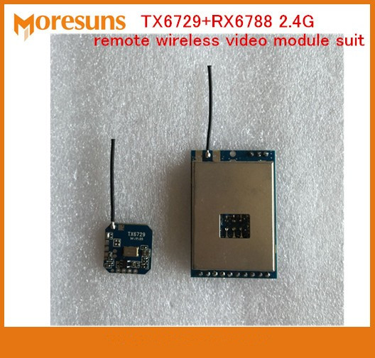 Free Ship TX6729+RX6788 2.4G remote wireless video module suit wireless audio and video transmission transceiver moduleFree Ship TX6729+RX6788 2.4G remote wireless video module suit wireless audio and video transmission transceiver module
