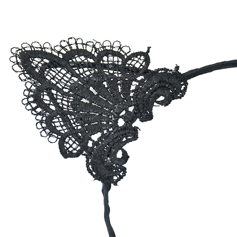 HTB14FhtQXXXXXX8XpXXq6xXFXXXS Handmade Sexy Black Lace Cat Ears Headband For Women