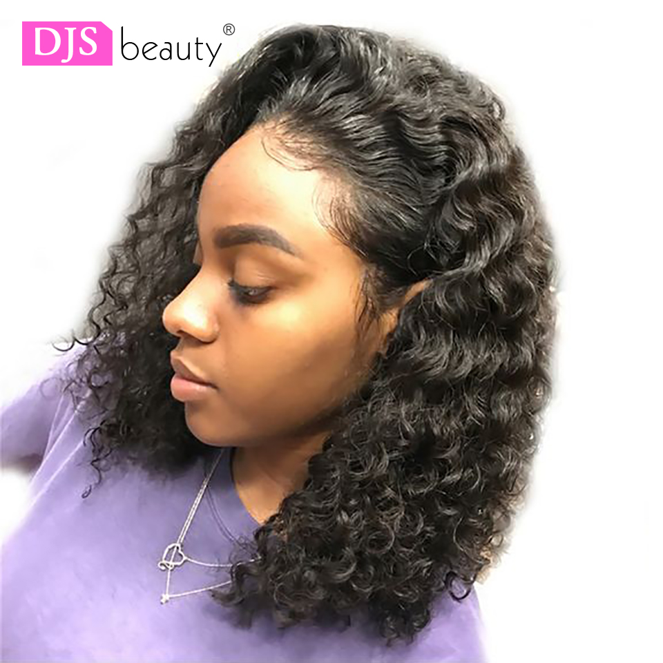 Human Hair Lace Wigs Maxglam Lace Wig For Afro American Full Lace Human Hair Wigs With Baby Hair Brazilian Deep Wave Remy Hair Free Shipping Save 50-70%
