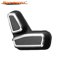 Car Interior Stylings 4pcs BoomBoost Front Seat Adjustment Switch Cover For 2011 2015 J Eep Grand