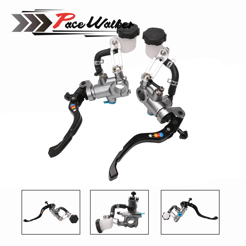Universal 17.5mm Frando PX1 motorcycle brake clutch pump lever Radial master cylinder 7/8