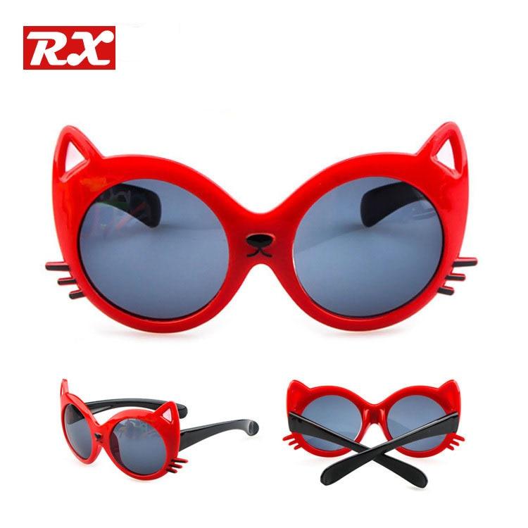 Black Frame Glasses For Babies : Lovely Cat Eye Sunglasses For Kids Boys and Girls Sun ...