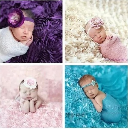 LIFE MAGIC BOX Baby Photography Background Blankets Rose Newborn Backdrop Props Baby Photo Studio Shooting Blanket newborn photography props backdrops blanket wrap headband set baby photo props wraps blankets hair accessories hairband hammock