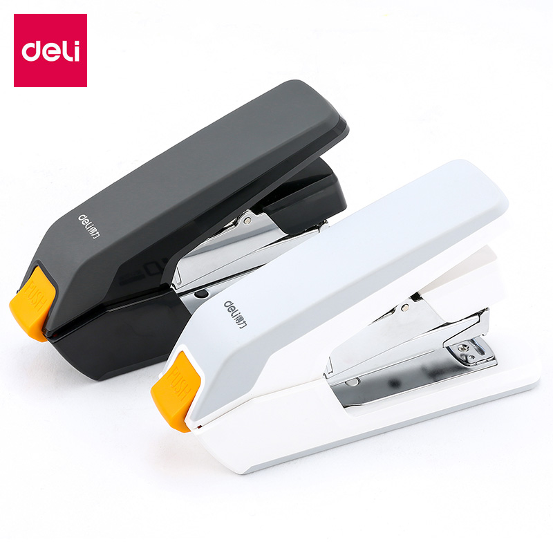 DELI Labor-saving Staplers Large Heavy-duty Thick Stapler Student Stapler Standard Multi-function Large Stapler Office Supplies 210 sheets deli stationery thick layer deli 0383 heavy duty manual jumbo stapler large thickening effortless heavy duty stapler