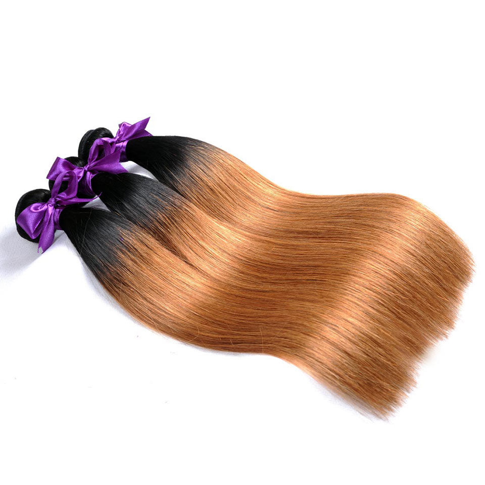 Straight-Ombre-Peruvian-Human-Hair-Bundles-10-26-inches-1b-30-Two-Tone-Blonde-Weave-Bundles-Shining-Star-Non-Remy-Thick-Welf-1Pccmm
