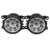 Para SUZUKI JIMNY FJ Fechado Off-Road Vehicle 1998-2014 estilo Do Carro amortecedor dianteiro Faróis de neblina LED de alta brilho luzes de nevoeiro 1 conjunto