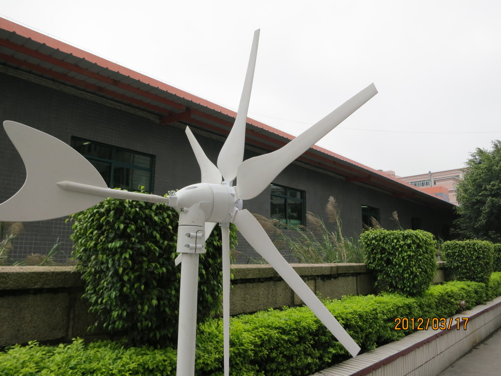 Générateur de vent de jacinthe 300 w, pleine puissance, moulin à vent, éolienne, haute qualité, CE, ROHS, ISO9001, 12VDC, 12VAC, 24VDC, 24VAC - 3