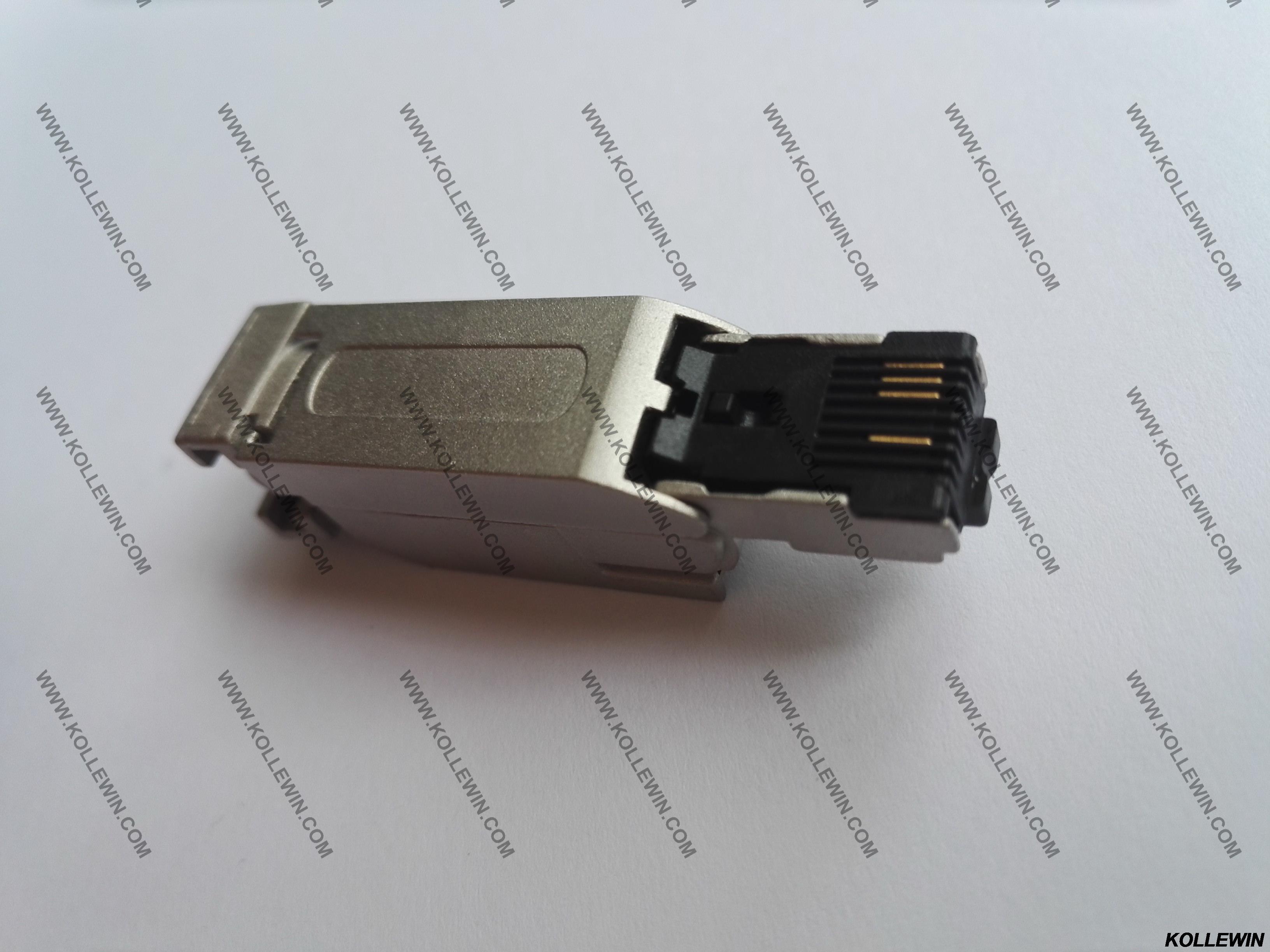 6GK1901-1BB10-2AB0 10 pcs 6GK1901-1BB10-2AA0 RJ45 PLUG 180 degrés connecteur profinet 6GK1 901-1BB10-2AB0 OEM 2 ans de garantie