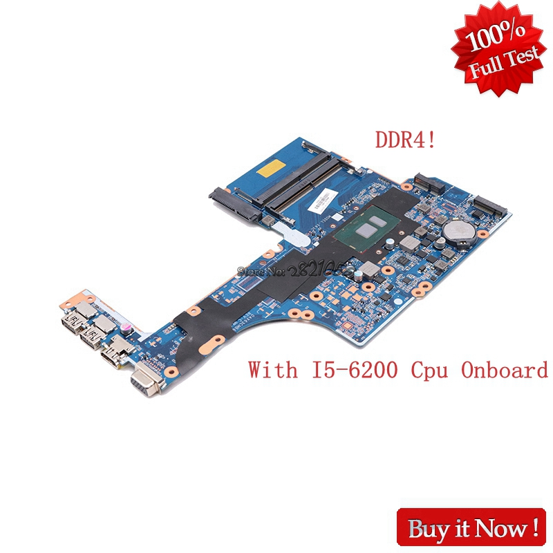 Nokotion 855672 001 855672 601 Main board for HP ProbBook 450 G3 Laptop motherboard DAX63CMB6C0 SR2EY