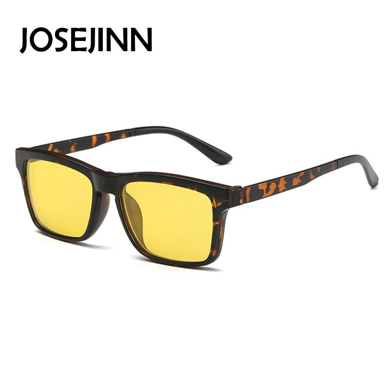 efb3682af9c Dropwow Eyeglass Frames with Clip On polarized Sunglasses Men ...