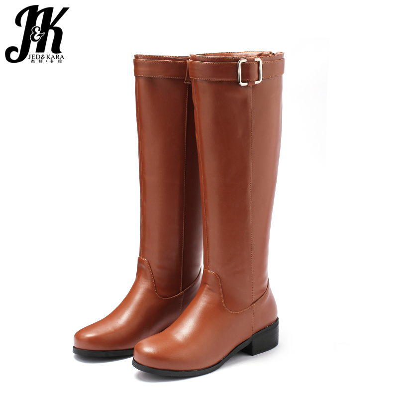 c3136978a De Equitação Femininos Inverno Short Tamanho Pé Bota Botas Do Joelho black  Thick 46 Sapatos 2018 ...
