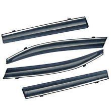 ABAIWAI Auto Car Window Protector PC Stainless Steel Visor Shade Awnings For Subaru Forester 2013 2017