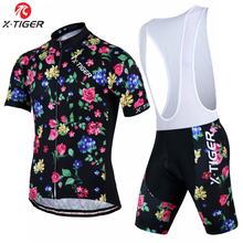 X-Tiger Brand Florenca 100% Polyester Cycling Clothing Bicycle Wear Maillot Ropa Ciclismo Pro MTB Bike Jersey Sportswear For Man
