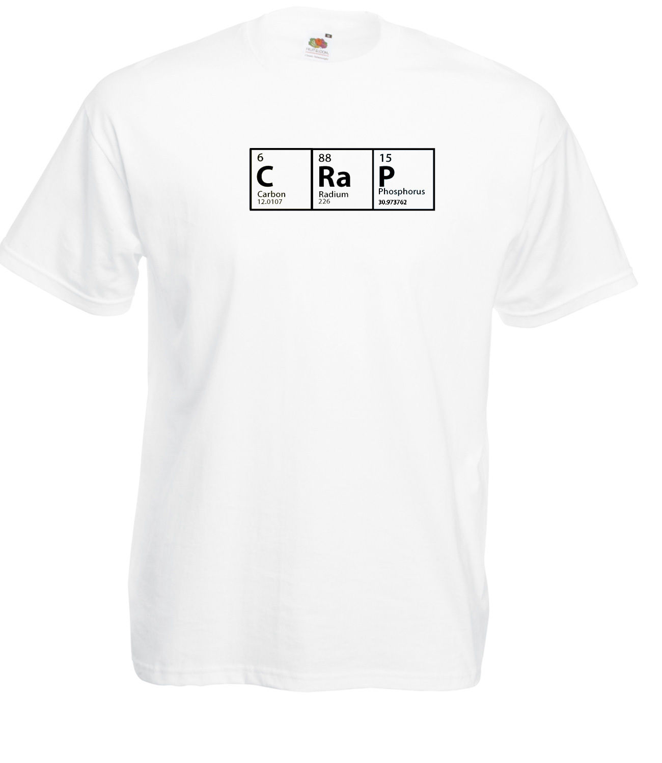 The Big Bang Theory Inspired Crap Periodic Table Design High Quality