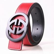 Fashion Solid Alloy G Belt Male Strap For Jeans Men High Qua