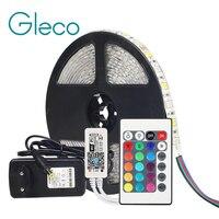 Tira de luces LED DC12V 5050, RGB, RGBW, RGBWW, 60LED/m, 5M, minicontrolador WiFi / Bluetooth y fuente de alimentación 3A