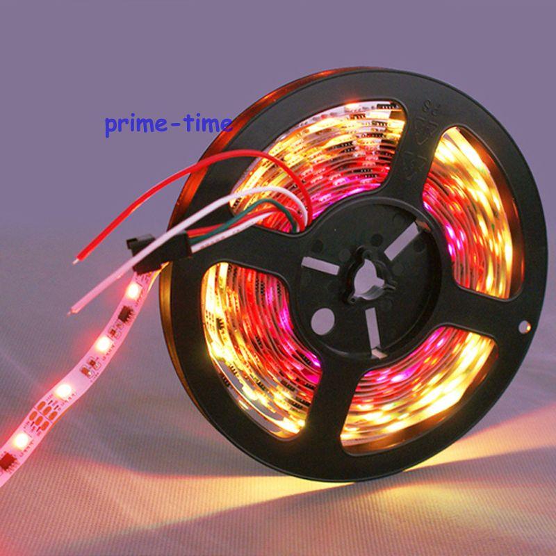 5m ws2811 led zolaq 60 led / m 12V, 20pcs ws2811 ic / metr (20piksel) - LED işıqlandırma - Fotoqrafiya 5