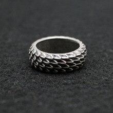 1 шт Дракон-Викинг кольца ювелирные изделия перьевое кольцо уникальные кольца для мужчин и женщин размер 8 античное серебро RG96