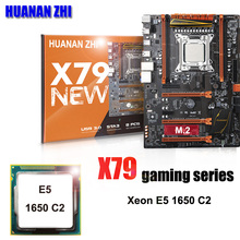 Бренд HUANAN Чжи Deluxe X79 LGA2011 игровая материнская плата Процессор комбинации процессор Xeon E5 1650 C2 3,2 ГГц все испытания и упакован хорошо