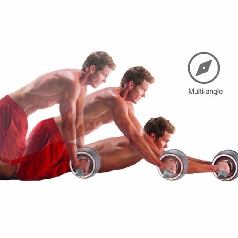 JayCreer Ab Roller Rad Ab Schnitzer Pro Roller Übung Ausrüstung Für Abs Bauch Core Fitness Workouts Training Für Männer Frauen