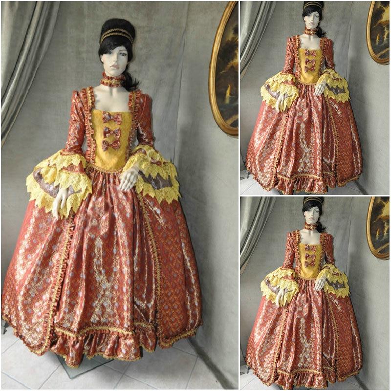 Hot sale! Customer made 19 Century Vintage Victorian Dresses 1860s ...