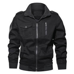 Lncdis повседневное зима весна куртка на молнии для мужчин Военная Униформа ветровка Jaqueta Masculina Veste мужские куртки Casacos Masculino 5
