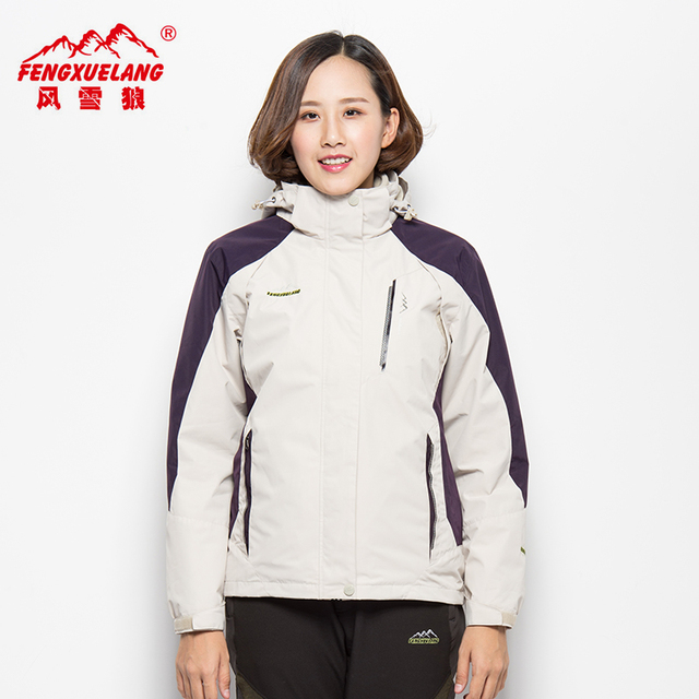 6a34fcf821916 US $66.94 |L 6XL Women's Winter Thick Softshell Jackets Outdoor Inside  Fleece Jacket Windproof Waterproof Thermal Coats Ski Hiking Camping-in  Hiking ...