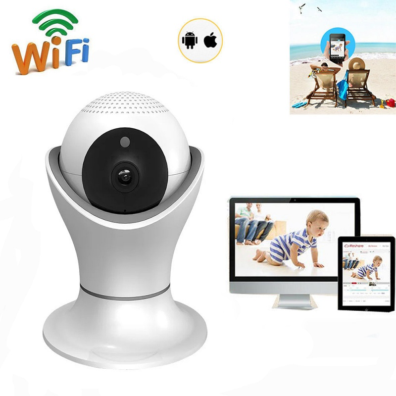 1080P HD Panoramic Wireless Wifi Ip Camera P2P Video Kamera Two Way Audio Night Vision 360 Degree CCTV Home Security Camera home ip wifi camera hd 5mp two way audio activity alert yunsye smart ip wifi webcam 360 degree panoramic camera ir cut