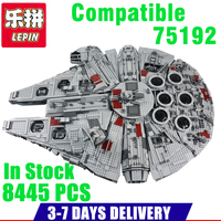 IN Stock LEPIN 05036 1685Pcs Star Wars TIE Fighter Model Building Kits Darth Vader Minifigure Blocks
